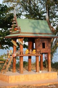 A Teak Thai Spirit House