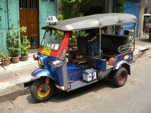 A Tuk-Tuk Taxi