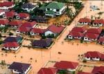 Whole villages submerged